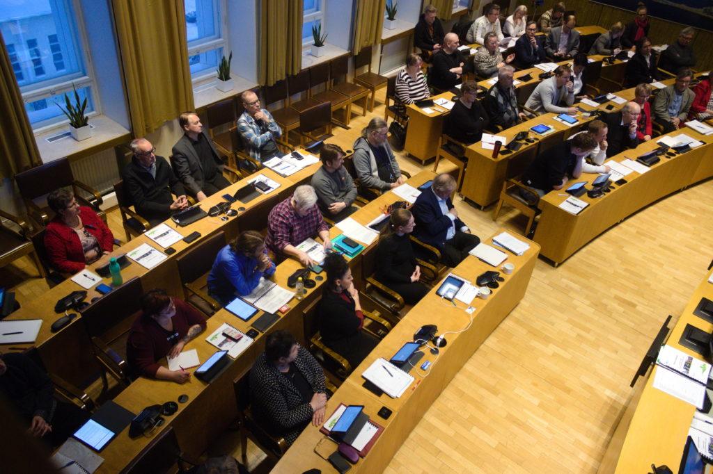 Kaupunginvaltuuston kokous 9.12.2019