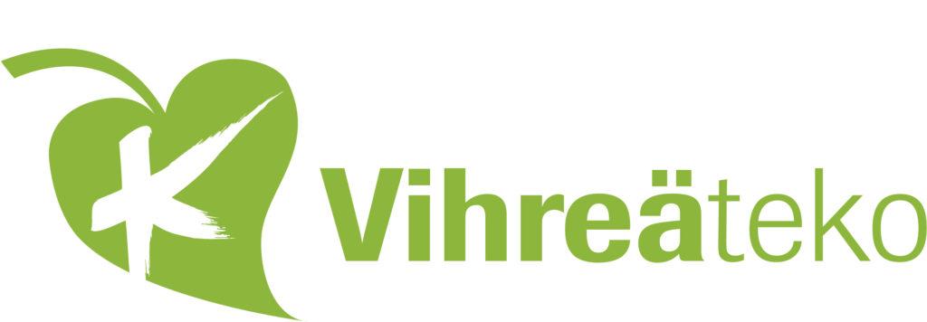 Logo, jossa Kemin kaupungin tunnus ja teksti Vihreä teko.