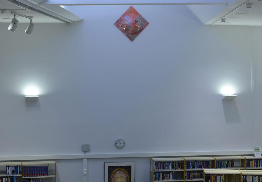 Harri Kiven teos Raivola Kemin kirjastossa
