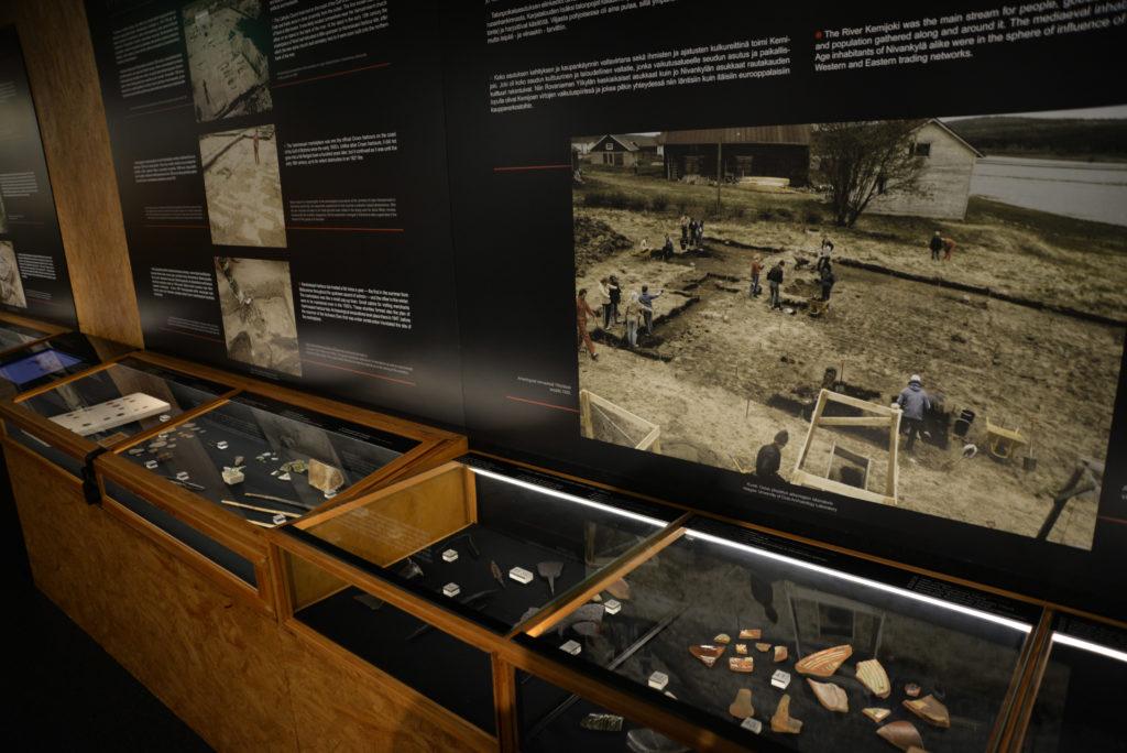 Kemin historiallisen museon näyttely esittelee Kemin seudun historiaa