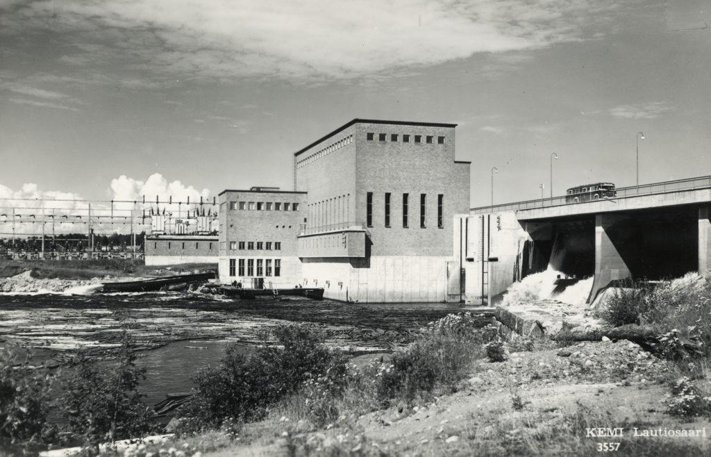 Isohaara kraftverk i Kemi älv.