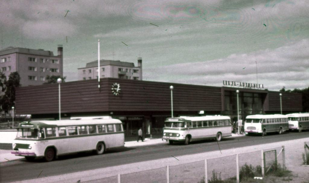 Bus station in Kemi.