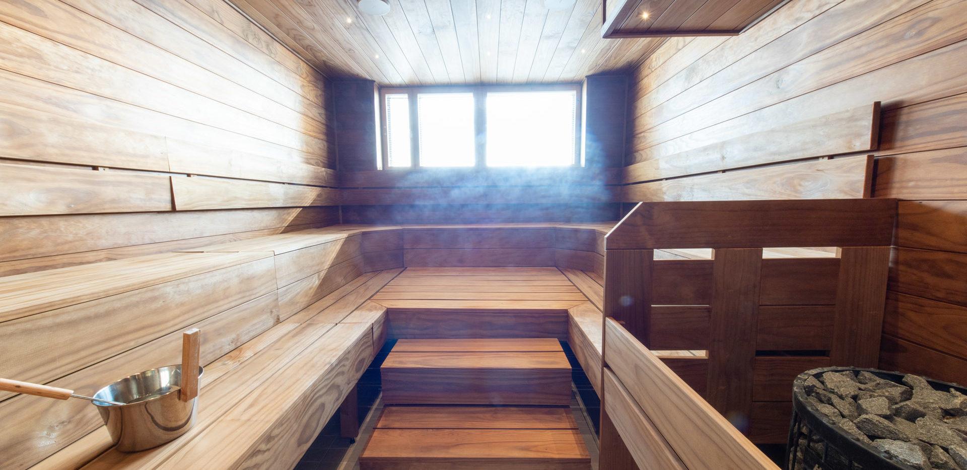 Lumilinnan sauna