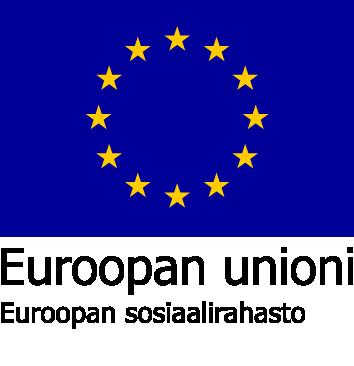 Euroopan sosiaalirahaston logo